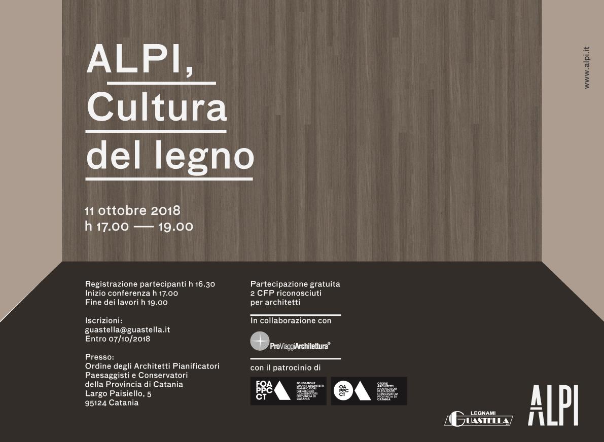 Alpi, Cultura Del Legno – 11 Ottobre 18